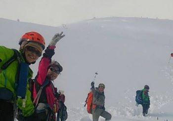 雪山初級コース