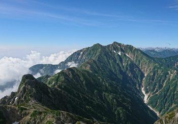 八峰キレット3泊4日(爺ヶ岳-鹿島槍ヶ岳-五竜岳縦走)