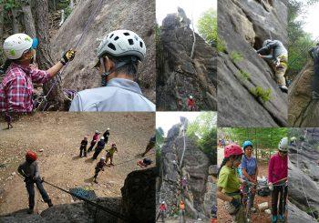 登山のための岩登り@小川山
