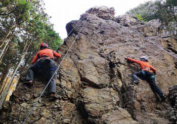 登山のためのクライミング講習